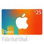 Itunes Geschenkkarte 25€